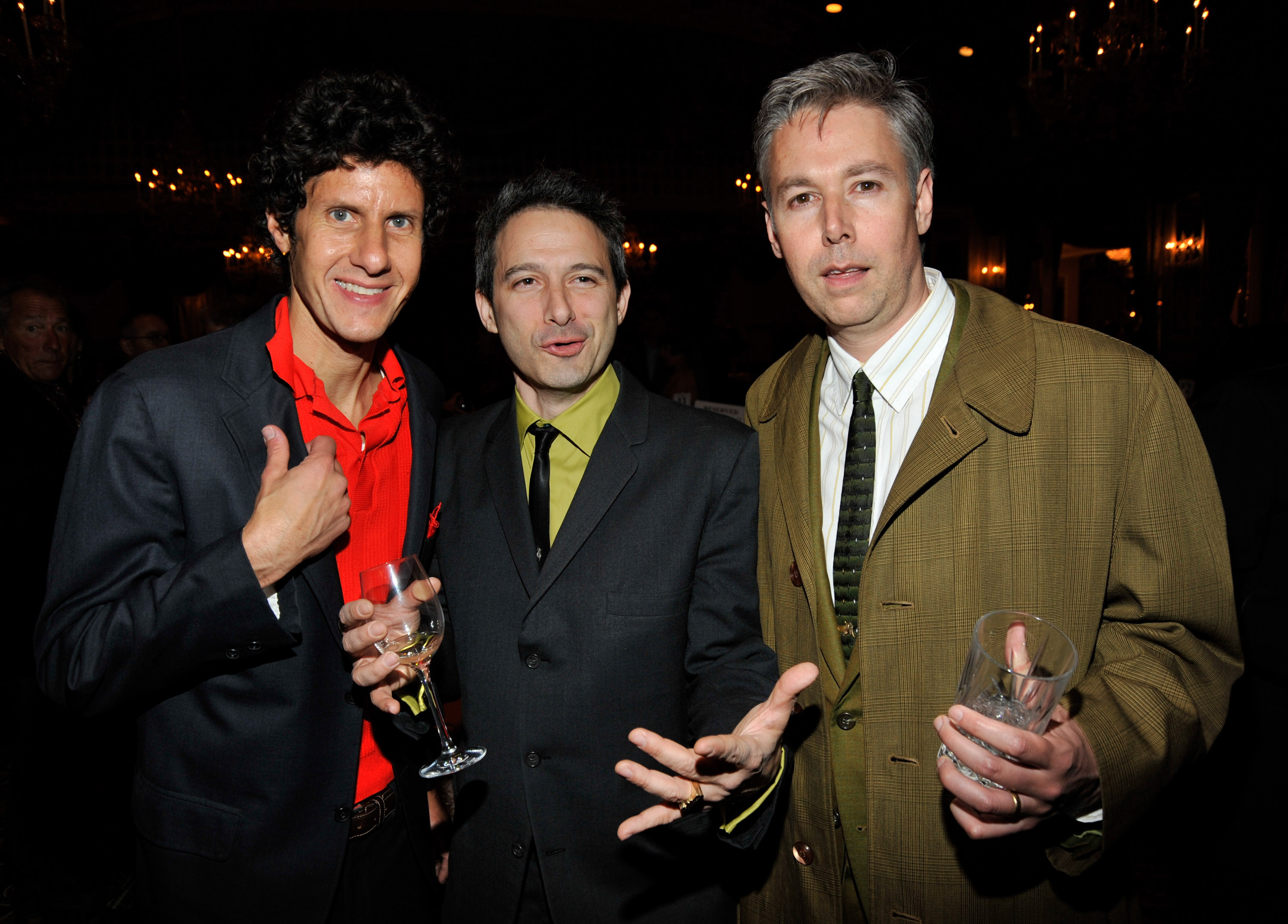 Michael 'Mike D' Diamond, Adam 'Ad-Rock' Horovitz and Adam 'MCA' Yauch of The Beastie Boys attends the after party for HBO films presents  Grey Gardens  New York premiere at the Pierre Hotel on April 14, 2009 in New York City.