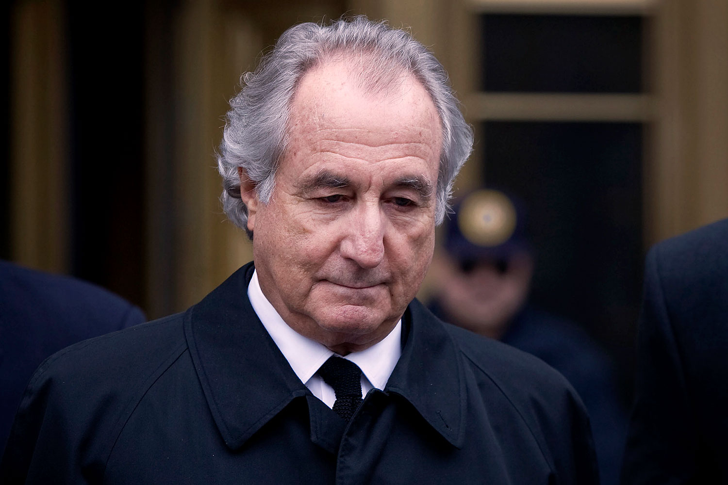 Bernard Madoff is led out from Federal court Mar. 10, 2009 in New York.