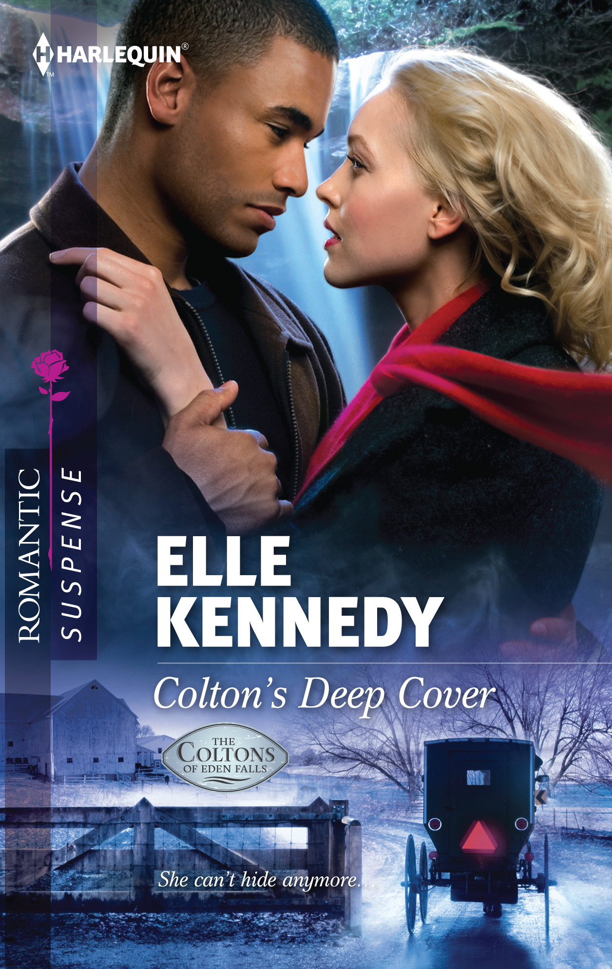 The cover artwork for Elle Kennedy's Colton's Deep Cover