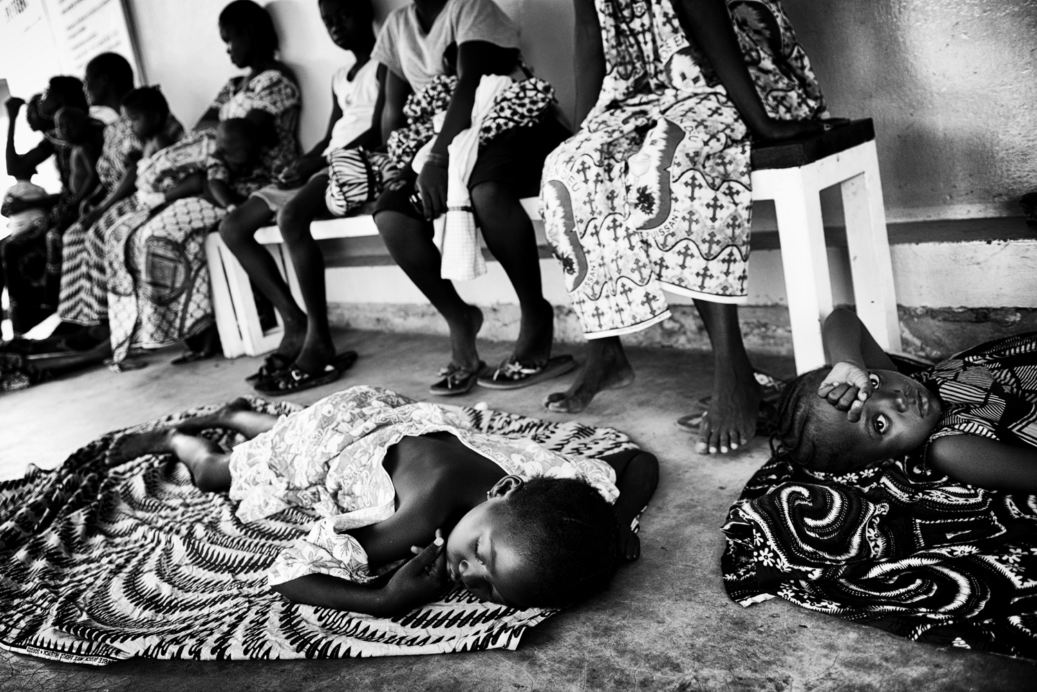 Many children often reach the emergency hospital alone to receive care as a result of disease or violence. Jan. 29, 2014.
