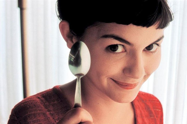 Amélie                               This French romantic comedy follows Amélie (Audrey Tautou), a shy waitress who decides to improve the lives of those around her. The film holds the record of being the highest grossing French film to be released in the US.