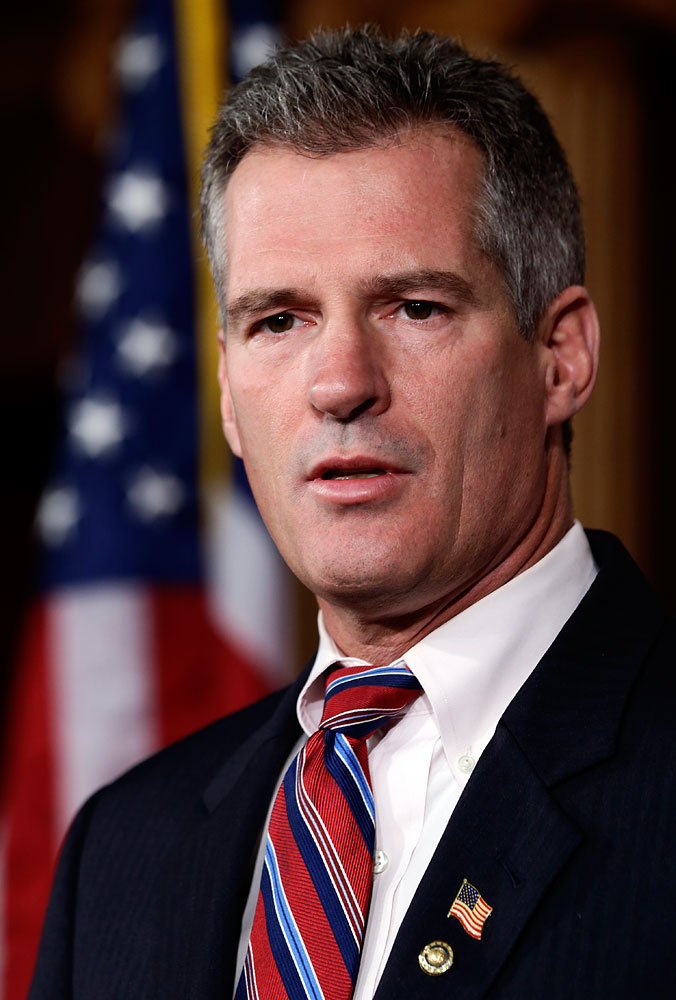 Scott Brown on Capitol Hill in 2012.