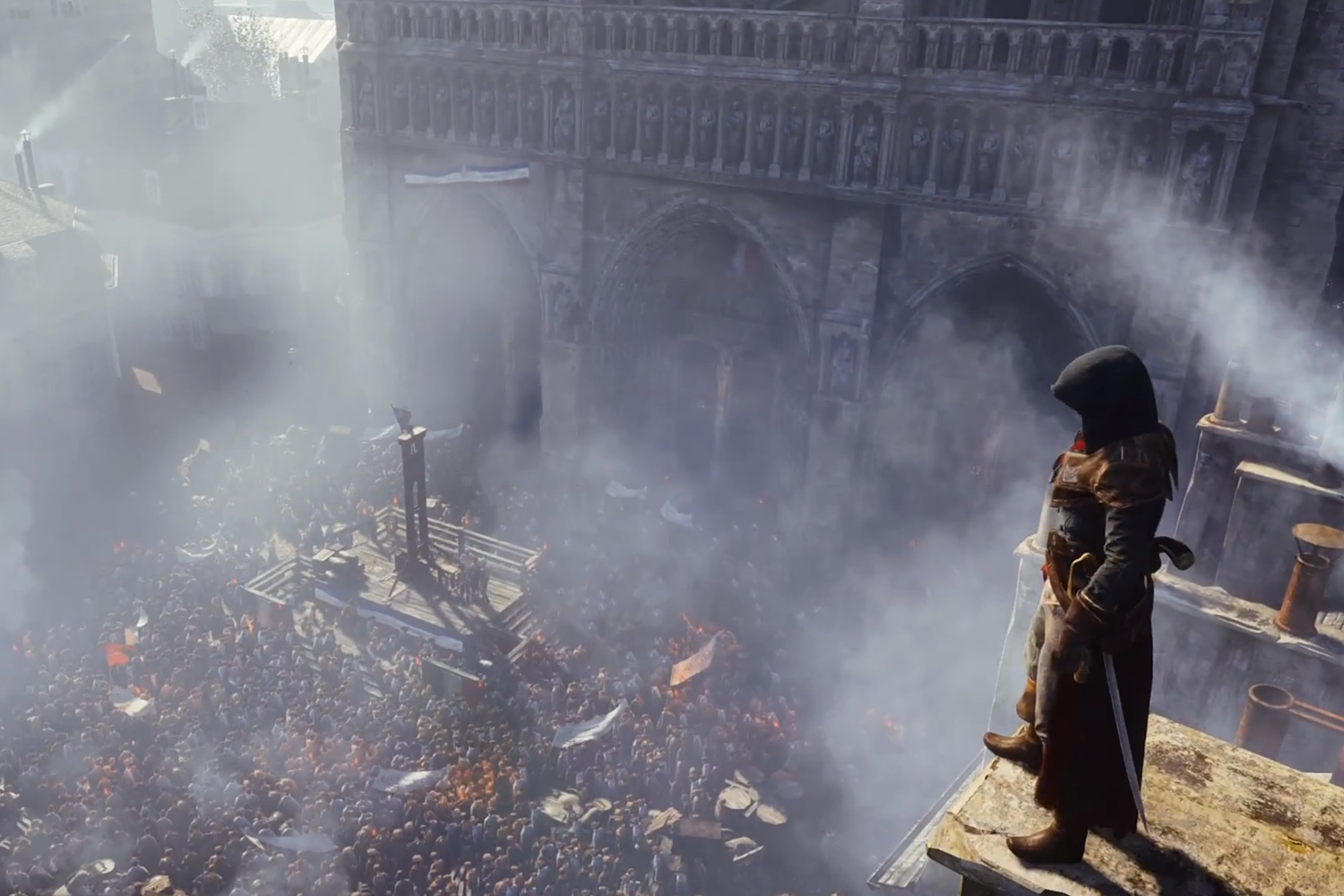 Ubisoft Assassin S Creed Unity Gets 2014 Release Date Time