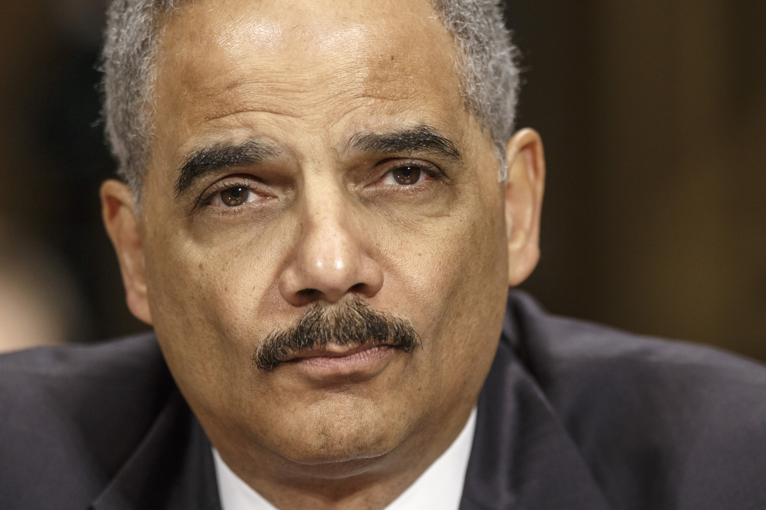 Attorney General Eric Holder testifies on Capitol Hill in Washington,  Jan. 29, 2014.