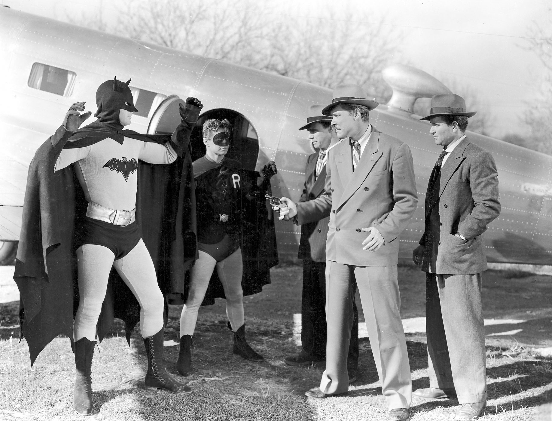 Johnny Duncan played Robin to Lowery's Batman in the 1949 <i>Batman and Robin</i> serial.