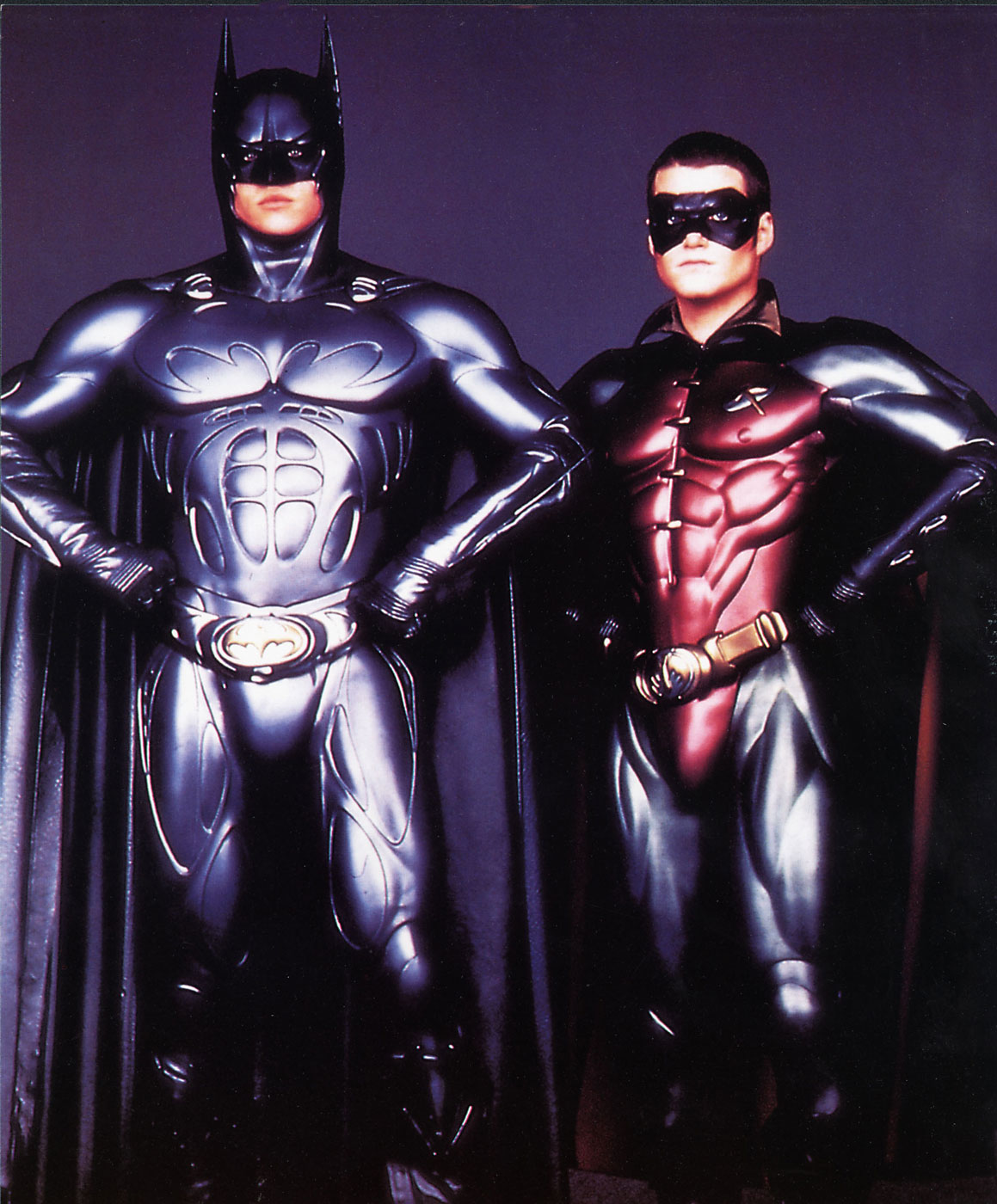 Chris O'Donnell played Robin for two different Batmen. He was Val Kilmer's Robin in 1995 (pictured above) and then joined George Clooney in 1997 for the widely panned <i>Batman &amp; Robin</i>.