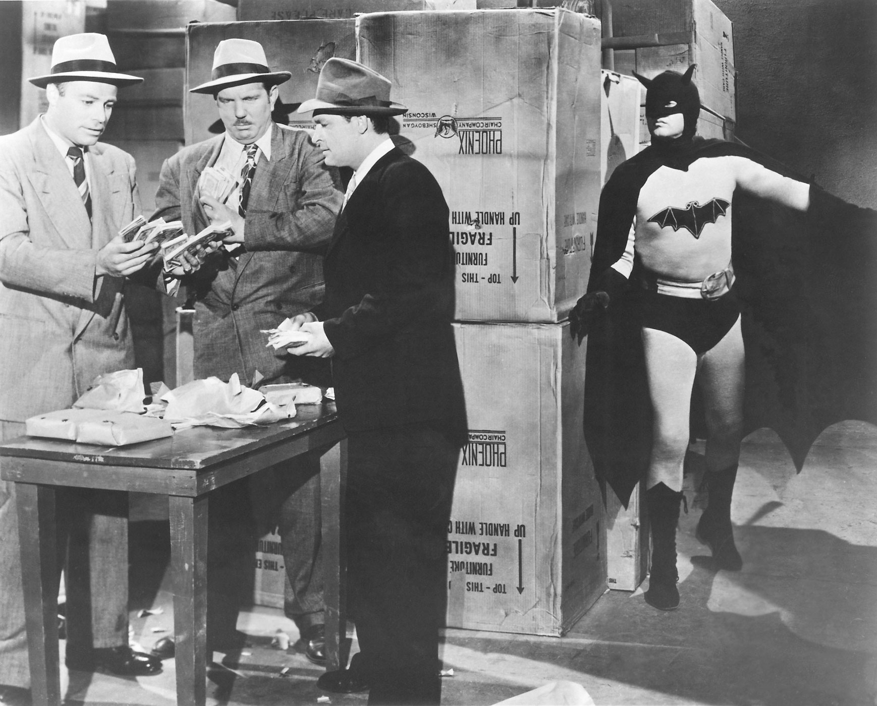 Robert Lowery was the second to don the guise of Batman, playing the caped crusader in the 15 chapter serial, <i>Batman and Robin</i> in 1949.