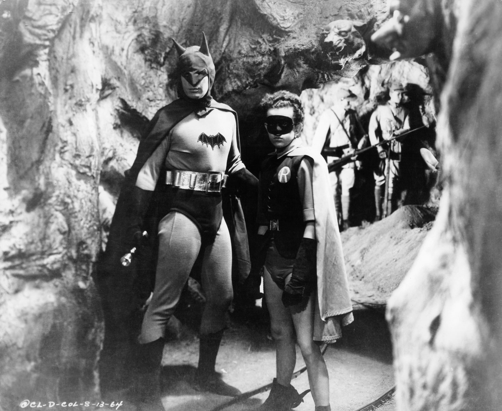 Lewis Wilson was the first actor to play Batman on screen, with Douglas Croft joining him as the first Robin in the 1943 film <i>Batman</i>.