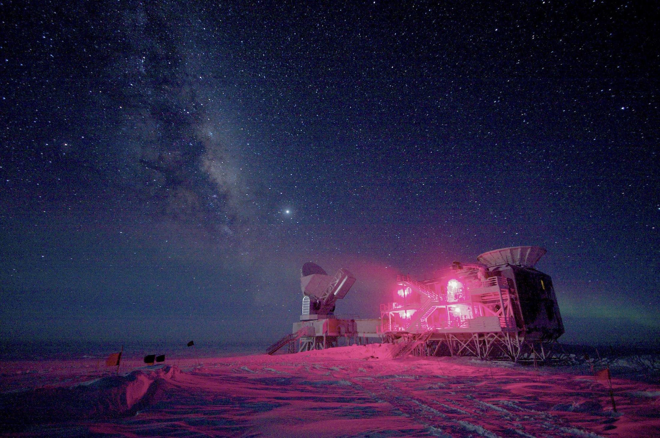 Eye on the Sky: The BICEP2 Telescope at the South Pole.