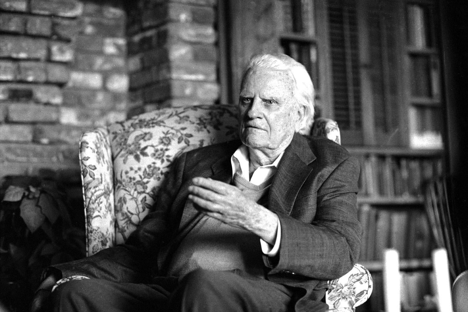 Preacher Man                                                              In his lifetime, Billy Graham has preached the Gospel in person to audiences that total 215 million people.
