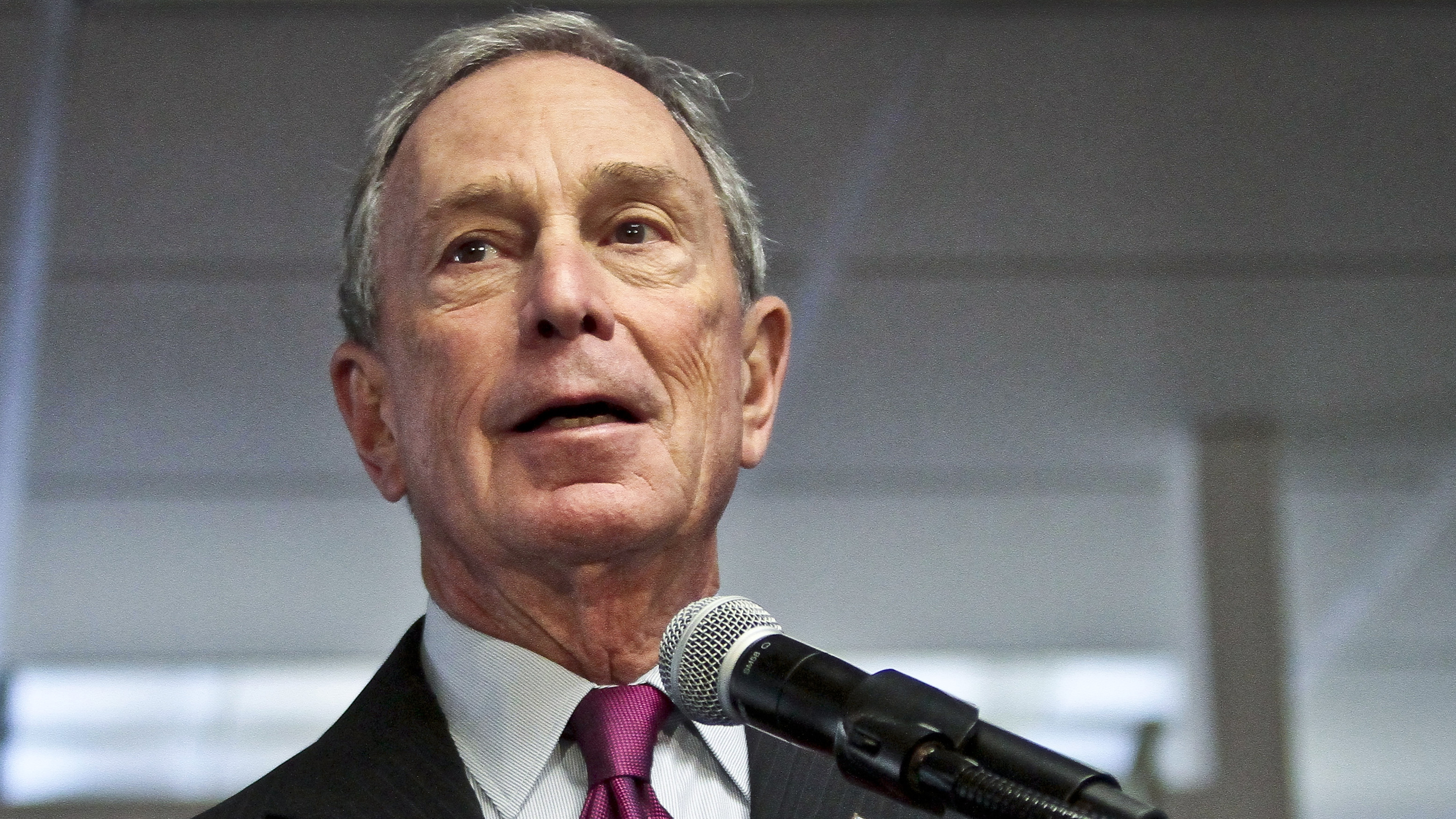 In this Dec. 18, 2013 file photo, then-Mayor Michael Bloomberg speaks in New York. The Republican National Committee began running ads in 40 media markets Tuesday, mostly targeting incumbent senators who supported President Barack Obama's health care program.