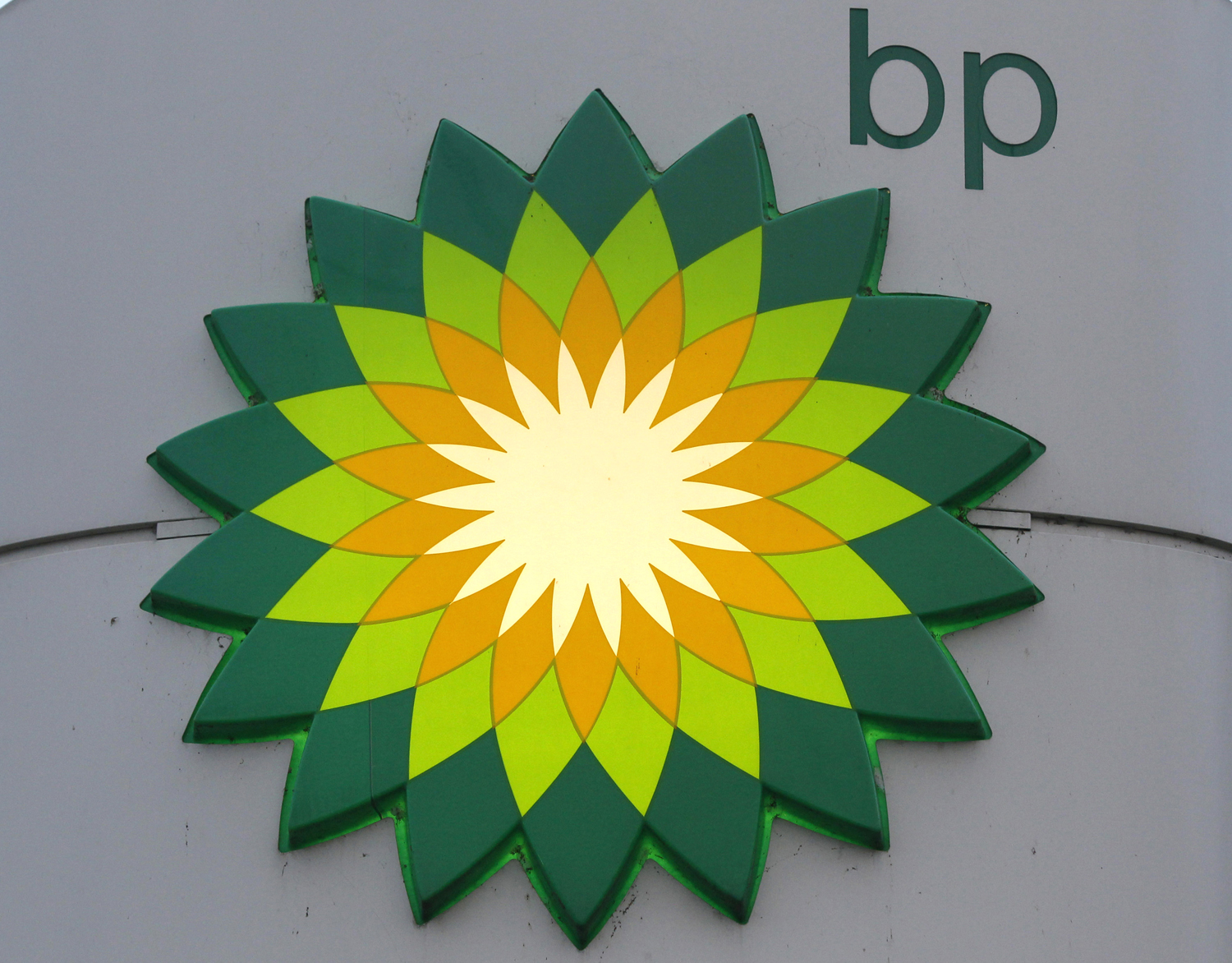 BP logo is seen at a fuel station of British oil company BP in St. Petersburg, October 18, 2012.