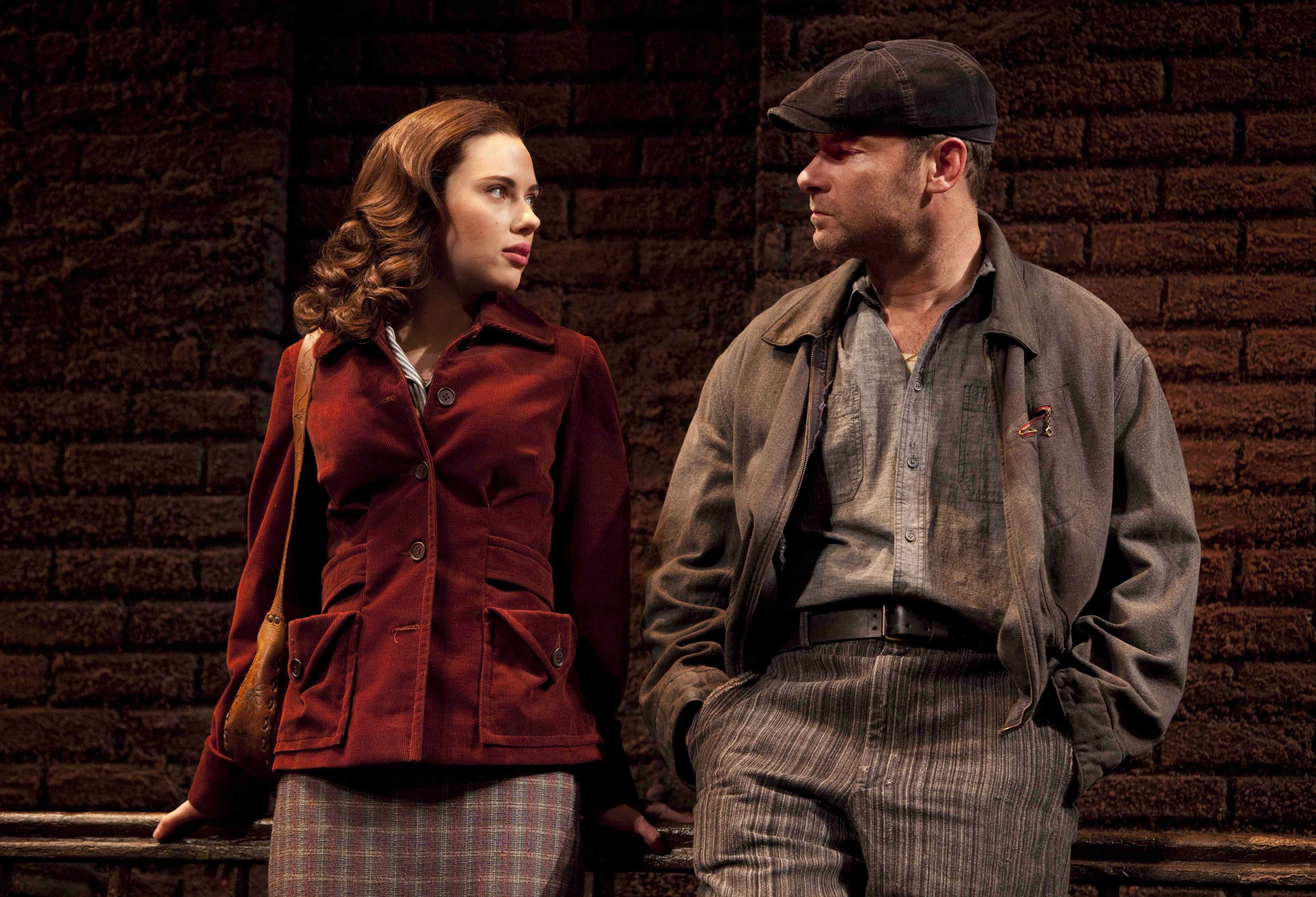 When she wasn't off saving the world as Black Widow, Scarlett Johansson made her Broadway debut as Catherine in the 2010 play <i>A View From The Bridge.</i>