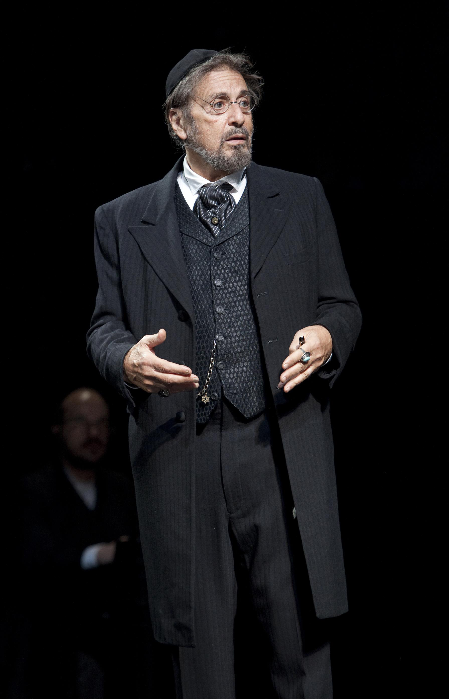 Al Pacino appeared as Shylock in <i>The Merchant of Venice</i> in 2010.