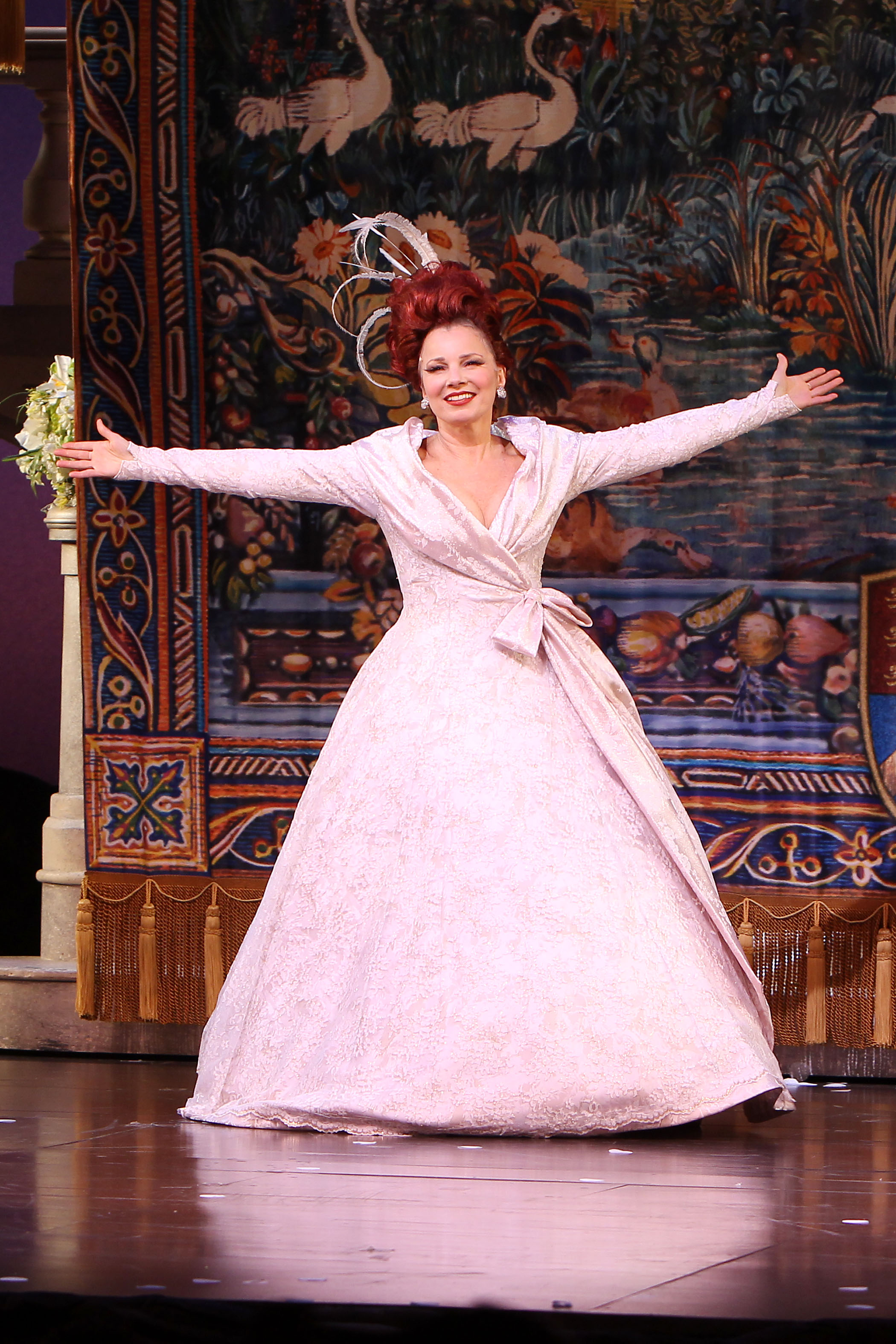 Jepsen is accompanied in <i>Rodgers and Hammerstein's Cinderella</i> by Fran Drescher, who made her Broadway debut as the wicked step mother.