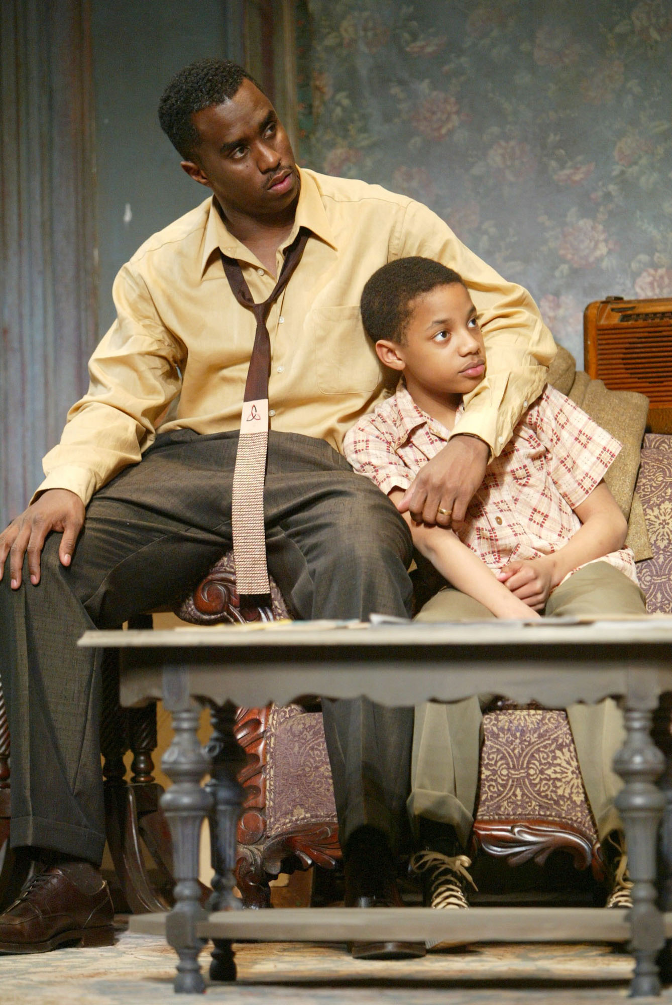 "Yes, even Diddy has performed on Broadway. Rap Mogul Sean ""P. Diddy"" Combs, left, made his Broadway debut as Walter Lee Younger in the 2004 revival of <i>A Raisin in the Sun</i>."