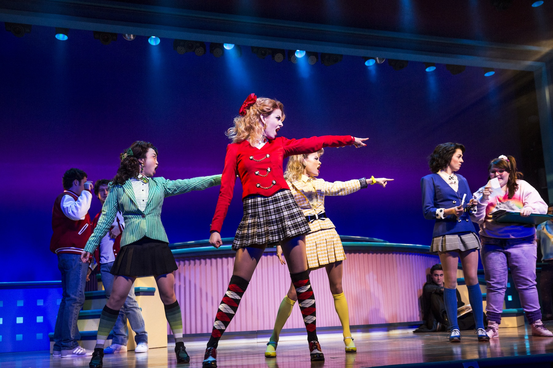 Heathers  at New World Stages in New York