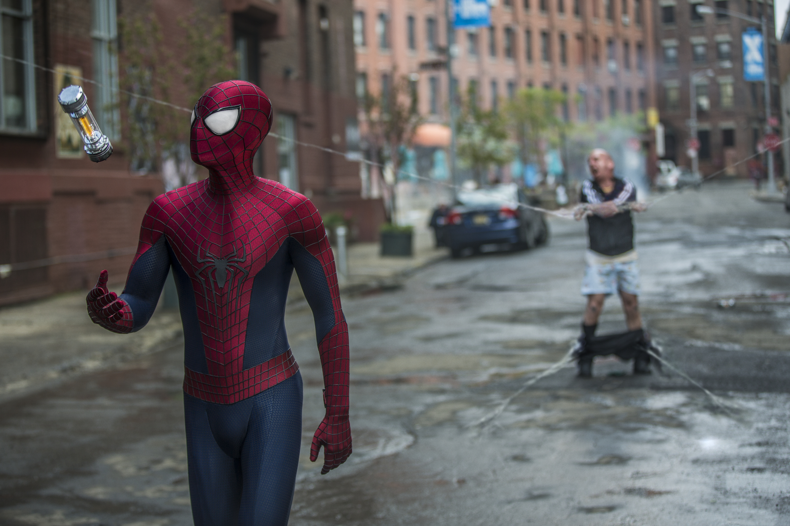 Andrew Garfield stars as Spider-Man in Columbia Pictures'  The Amazing Spider-Man