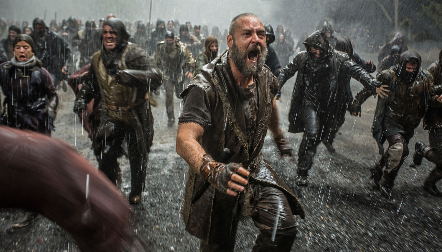 Russell Crowe in a scene from  Noah.