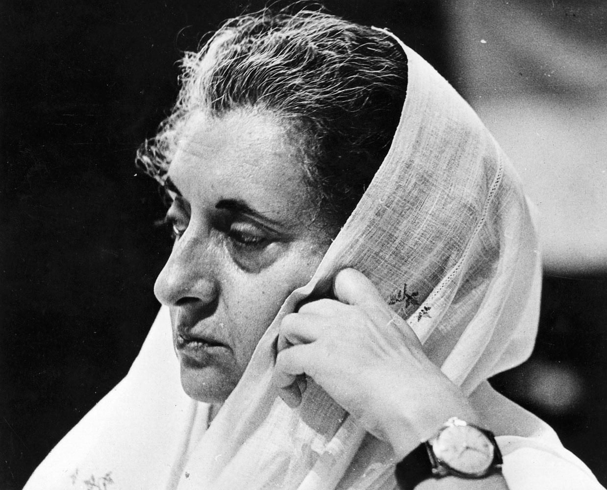 Indira Gandhi (1917–1984), Prime Minister of India