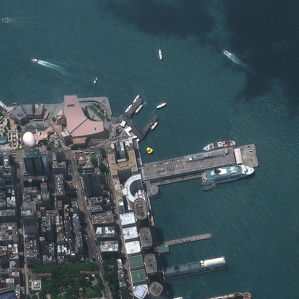 Hong Kong, China May 9, 2013 – giant rubber duck
