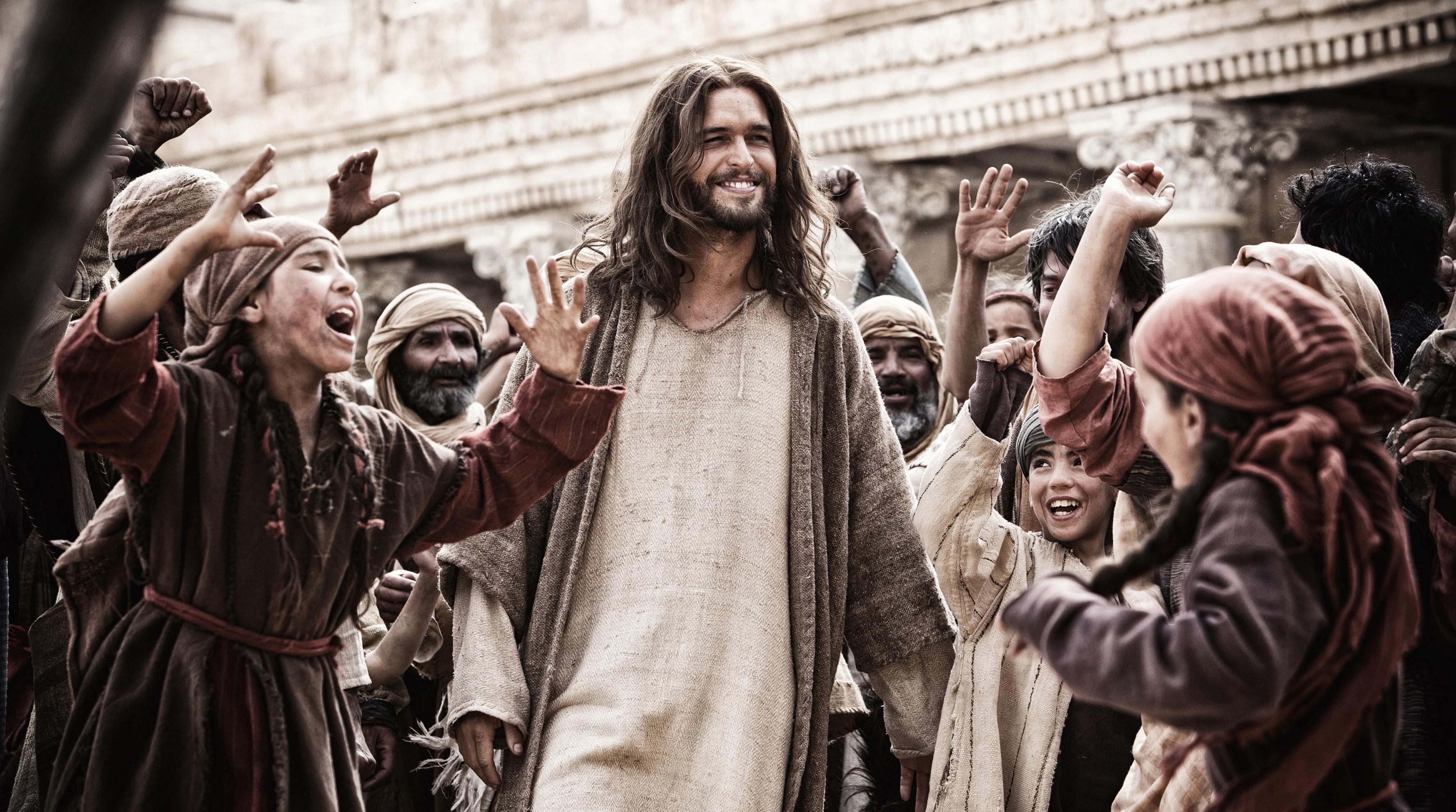 Diogo Morgado as Jesus in  Son of God.