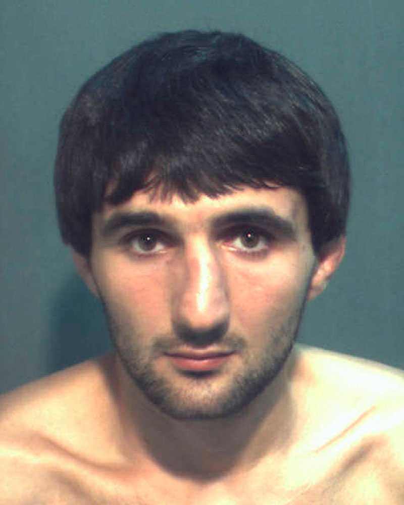 Ibragim Todashev in an undated booking photo courtesy of the Orange County Corrections Department.