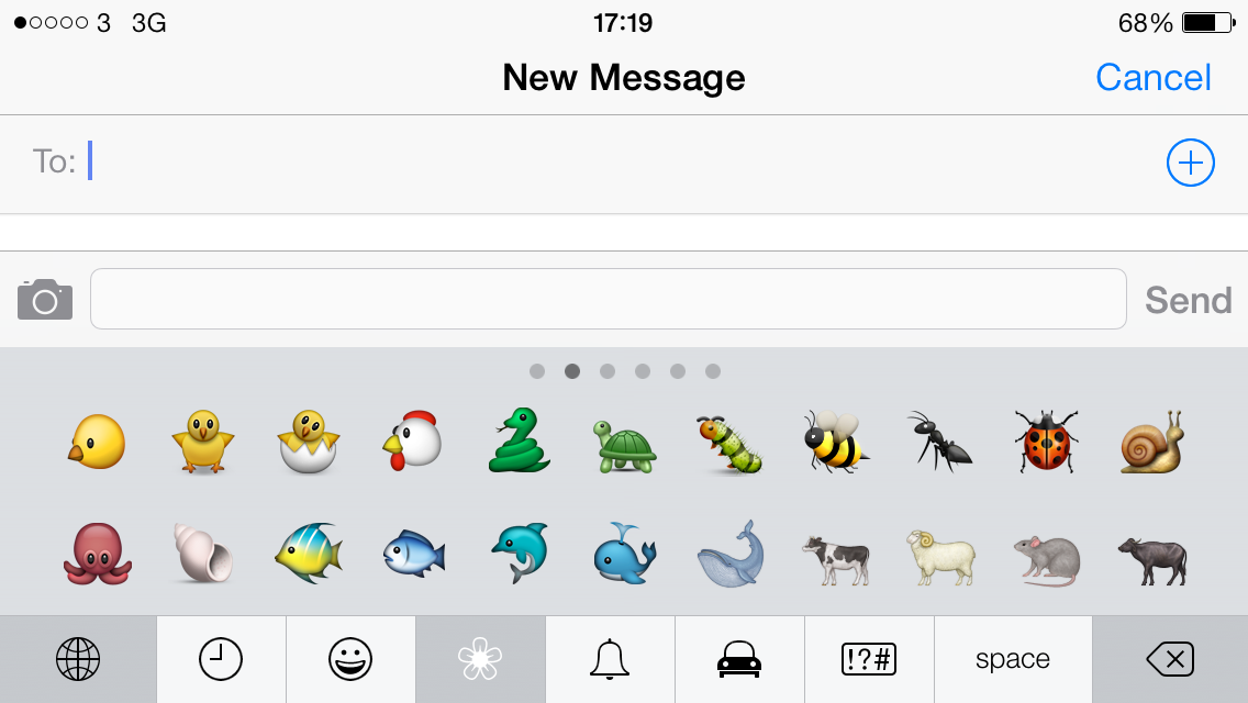 There are plenty of choices when it comes to emojis of animals, but almost none when it comes to racial diversity