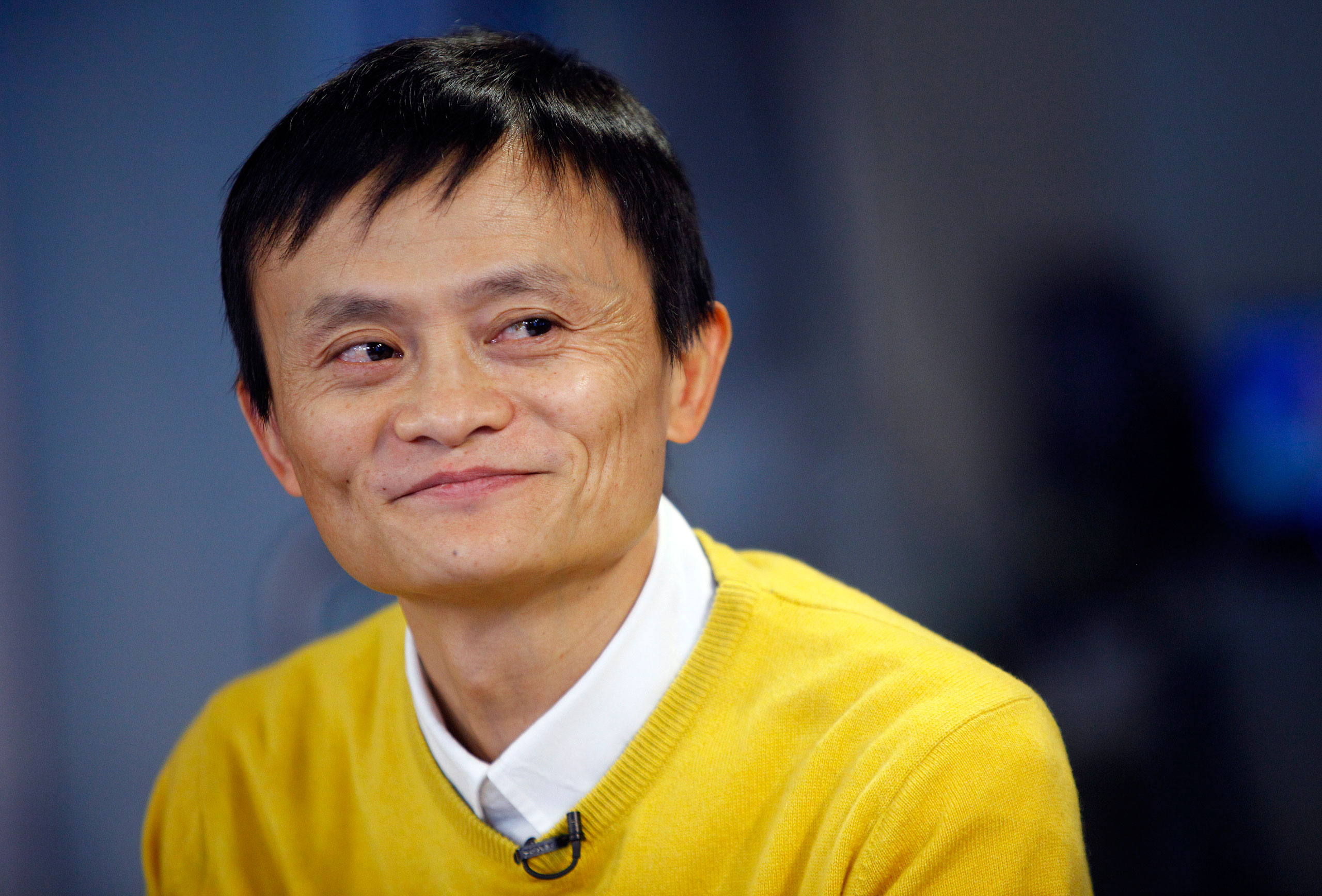 Alibaba CEO Jack Ma during an interview in New York City on March 12, 2009
