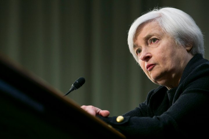 Janet Yellen testifies before the Senate Banking Committee during a hearing on her nomination to become Chair of the Federal Reserve on Nov. 14, 2013 in Washington, D.C.