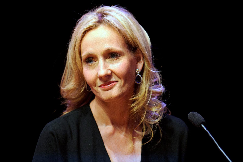 J.K. Rowling in London in 2012.