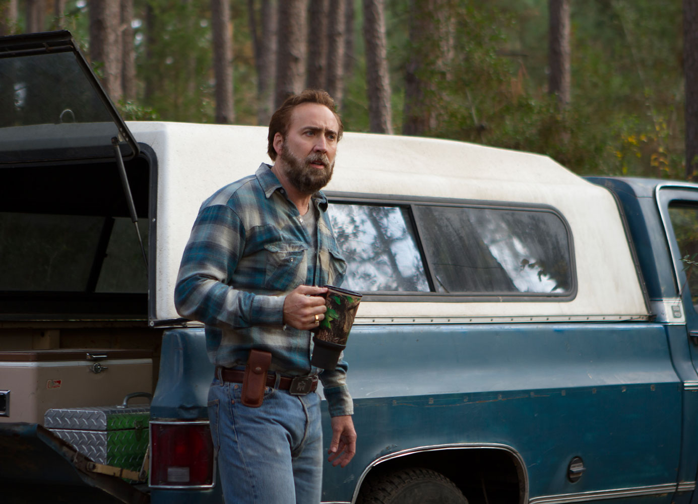 Nicolas Cage in David Gordon Green's Joe.
