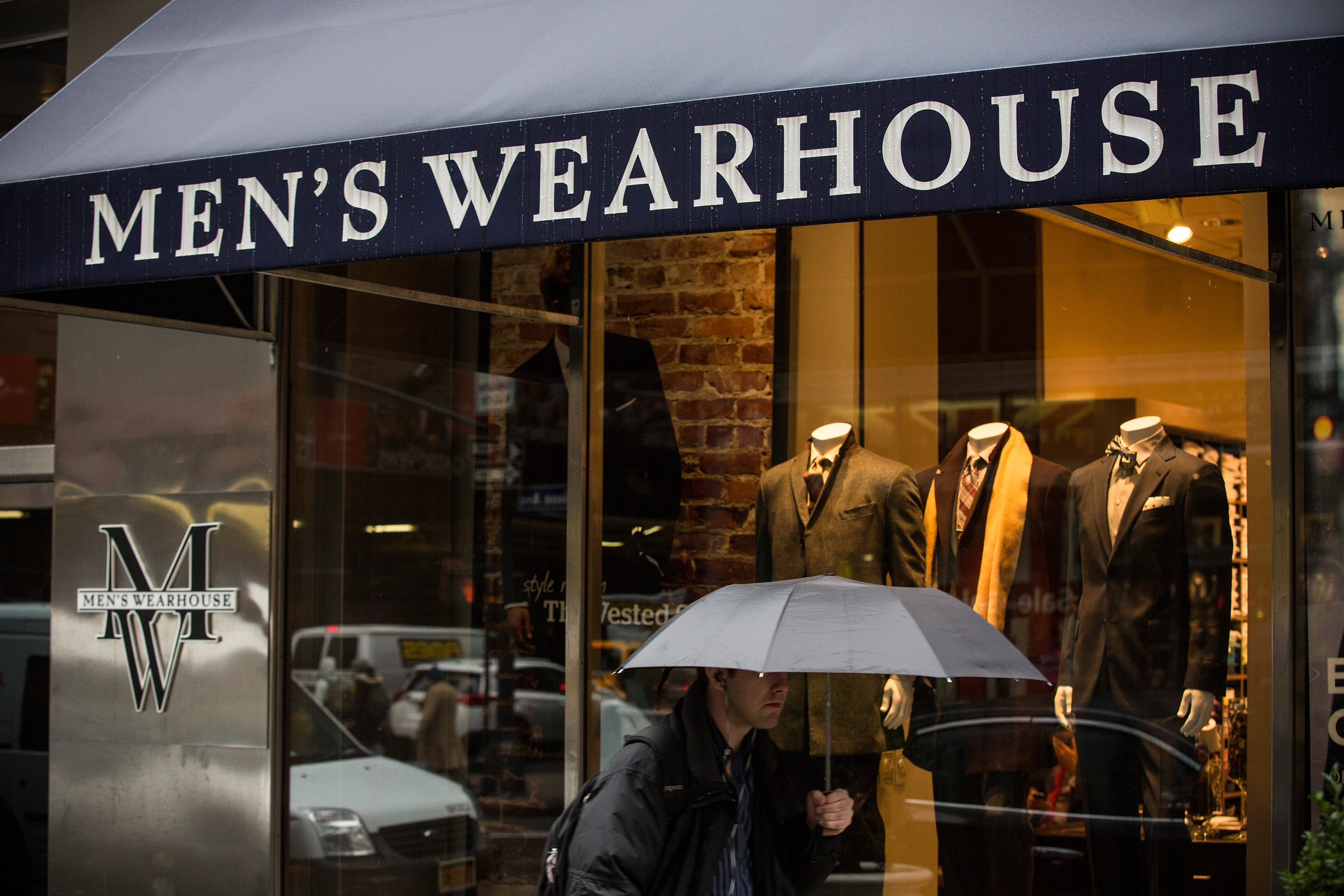 Men's Wearhouse and Jos. A. Bank have been negotiating a merger since last October