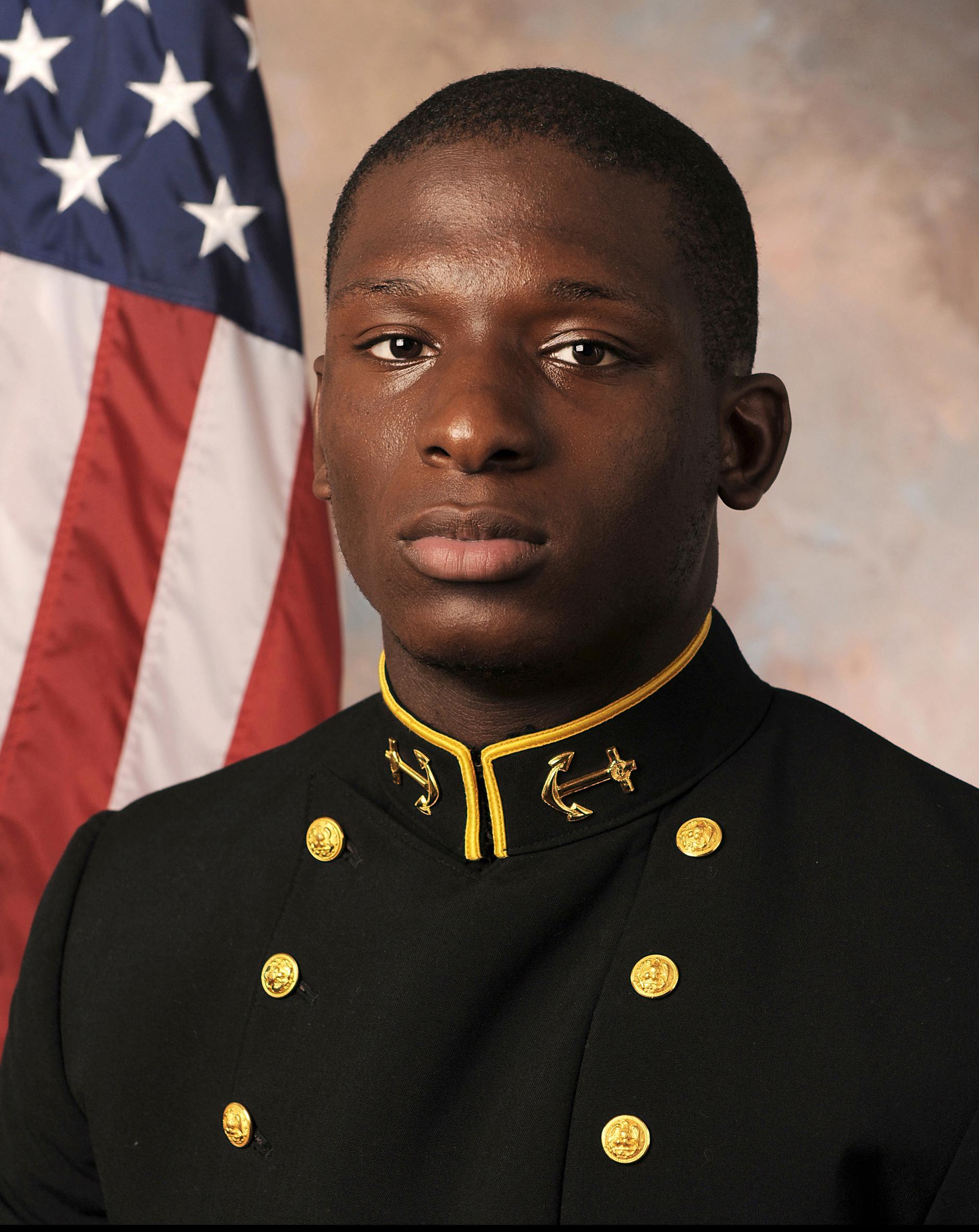 Midshipman Joshua Tate.