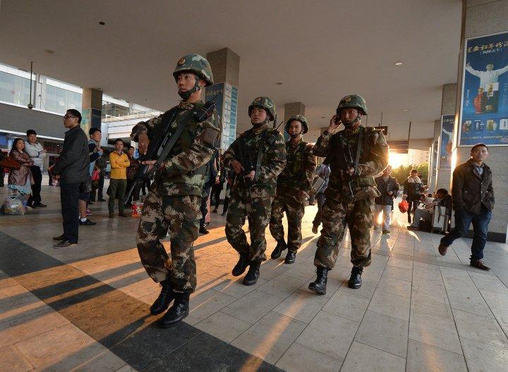 CHINA-VIOLENCE-YUNNAN-XINJIANG