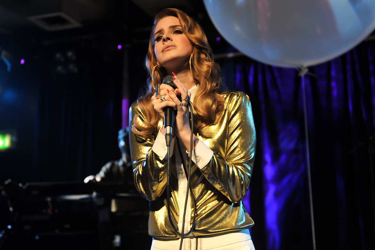 Lana Del Rey performs on stage at Scala on November 16, 2011 in London, United Kingdom.