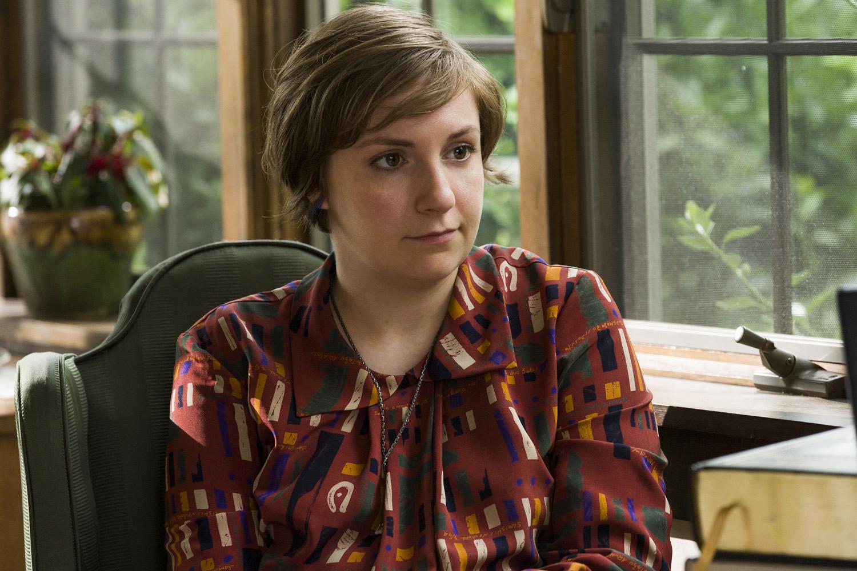 Lena Dunham in 'Girls,' season 3, episode 9.
