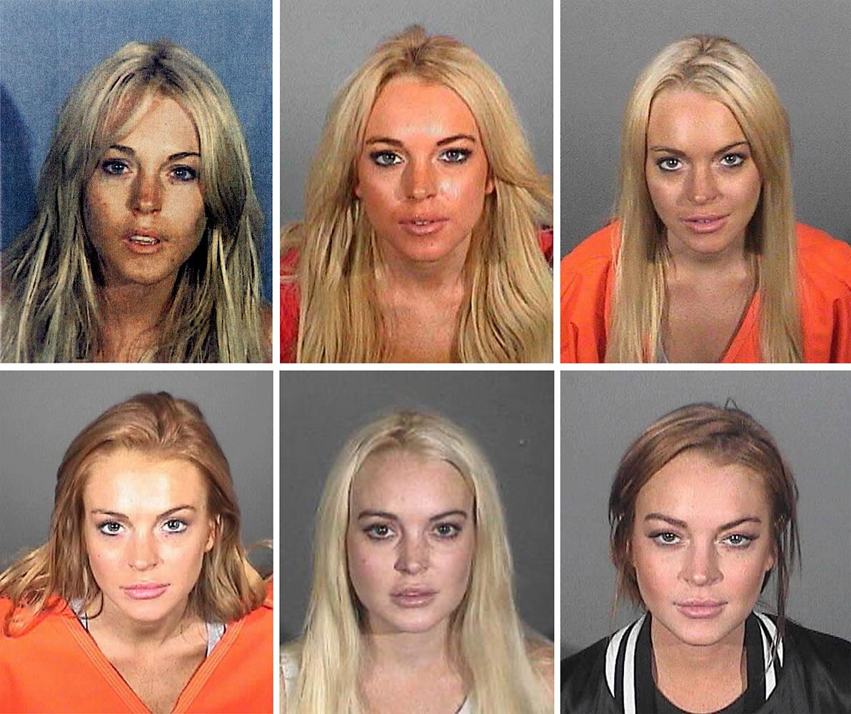 <strong>Lindsay Lohan</strong>