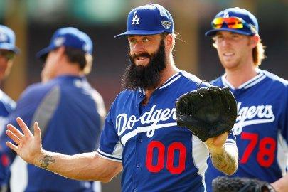 LA Dodgers Training Session