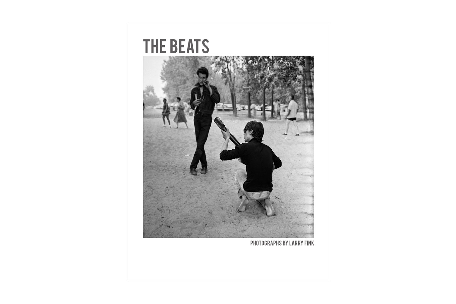 Larry Fink's The Beats, published by PowerHouse books College dropout turned legendary photographer, Larry Fink chronicled The Beats as both a naive observer and kindred spirit in a quest for cultural enlightenment that started on MacDougal Street and ended in debauchery.