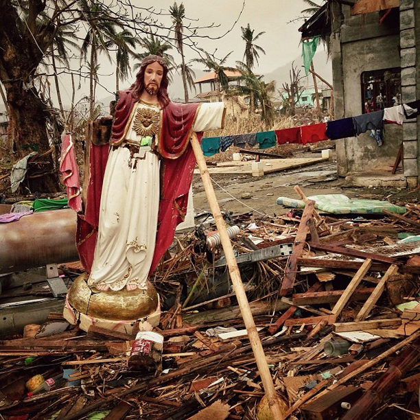 Typhoon aftermath in the Philippines city of Tacloban, November 15, 2013.