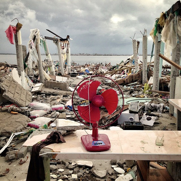 A city in ruins, Tacloban, Philippines, November 23, 2013.