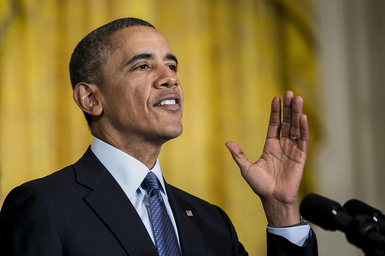 President Barack Obama in Washington, D.C. on March 13, 2014.