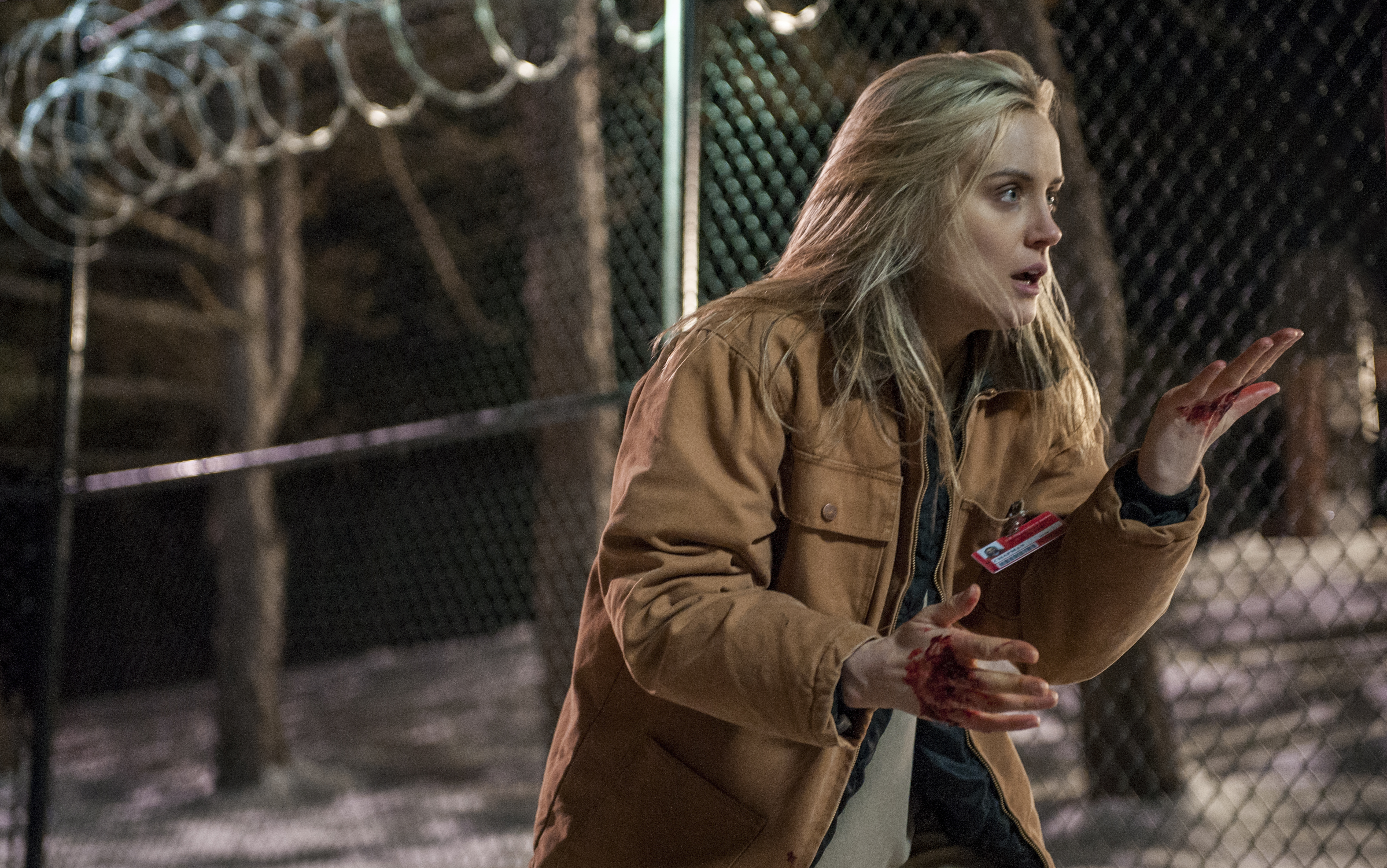 Taylor Schilling in a scene from Orange is the New Black