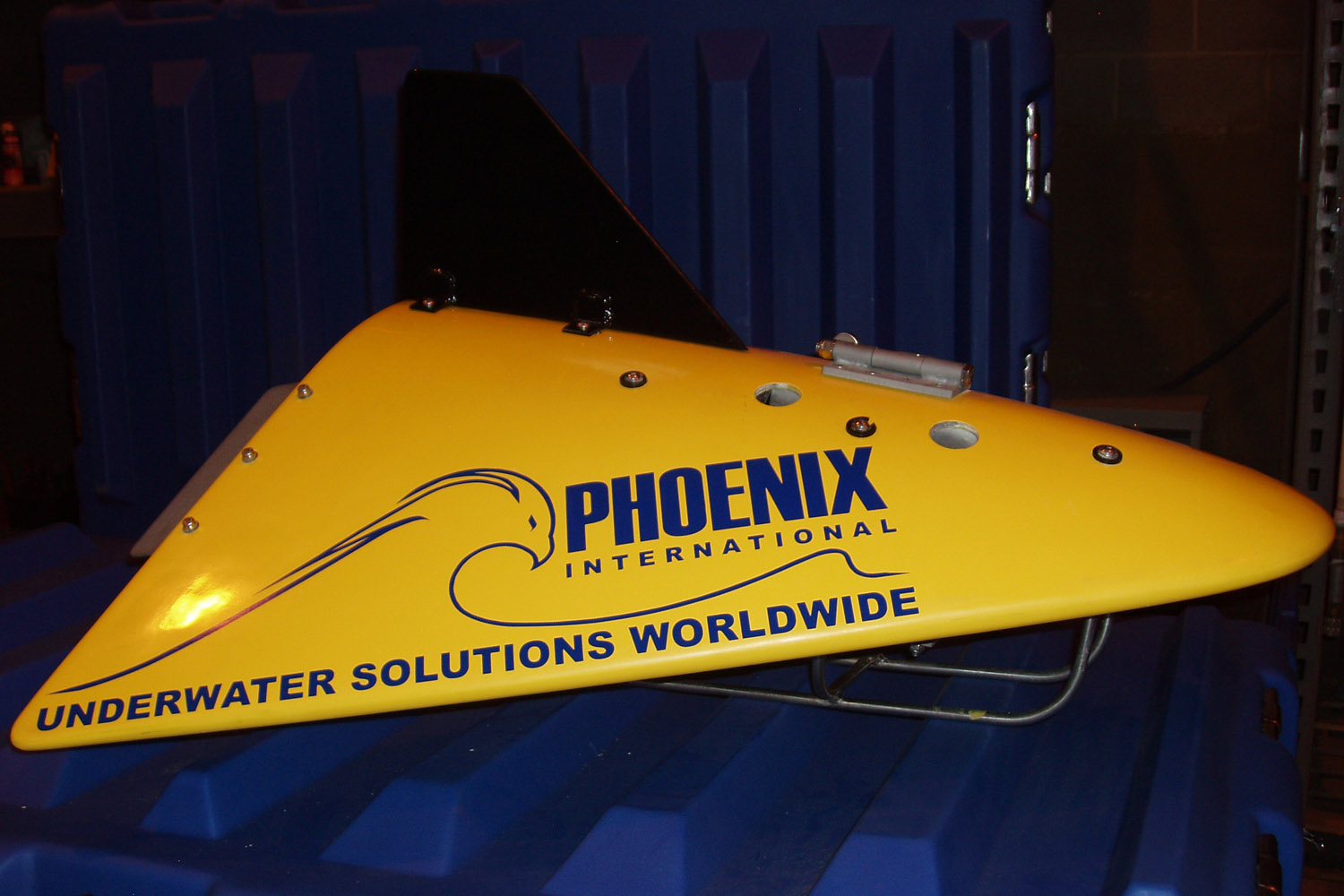 The Navy's Towed Pinger Locator 25 trawls for sounds as deep as 20,000 feet.