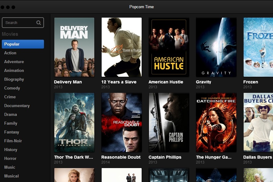 Popcorn Time Is Over: Potent Piracy App Quickly Calls It Quits