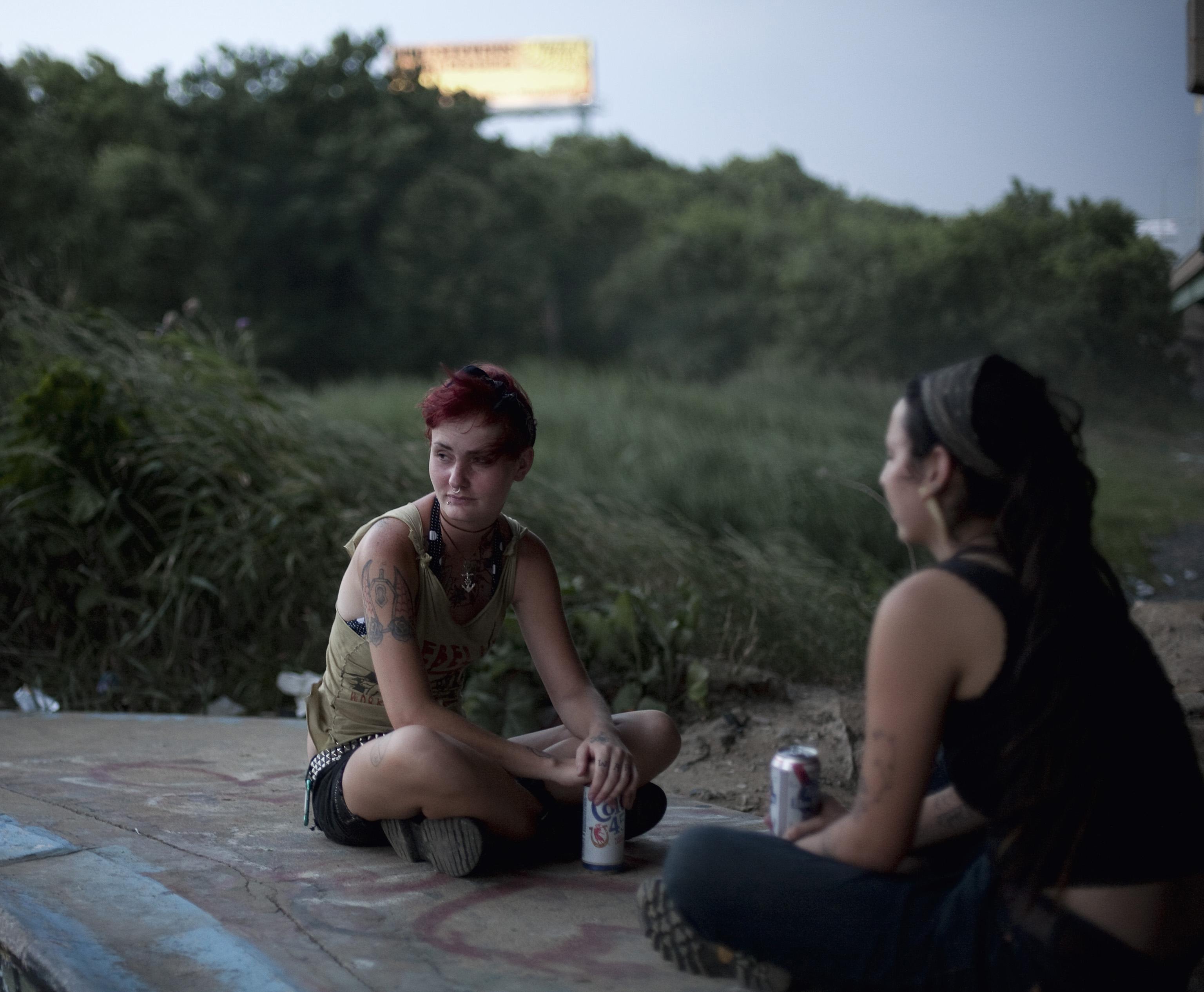 Punk Girls, FDR, Philadelphia, USA