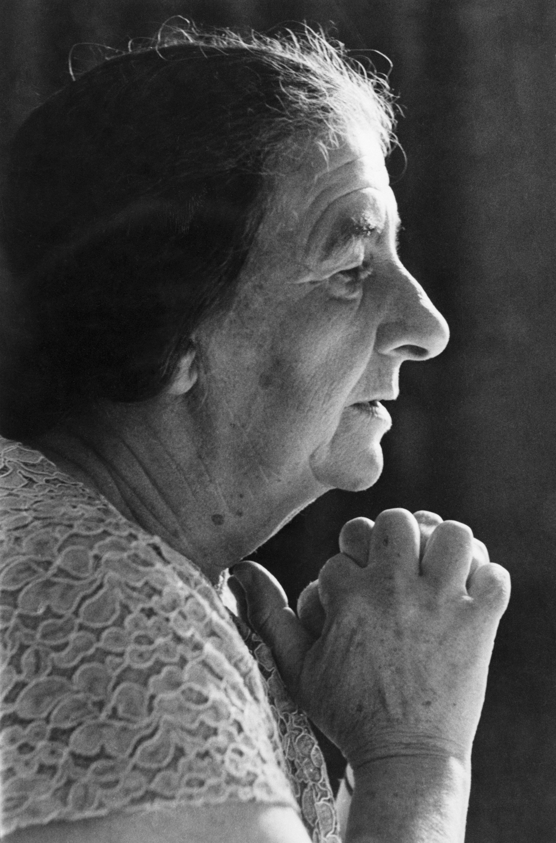 <strong>Golda Meir, Israel</strong>Although best known as Israel's Prime Minister during the 1973 Yom Kippur War, Meir made her mark on the revolutionary Zionist movement during the pre-state period when during a 1948 trip to the U.S., she raised $50 million from the Jewish diaspora community, making a state of Israel possible.