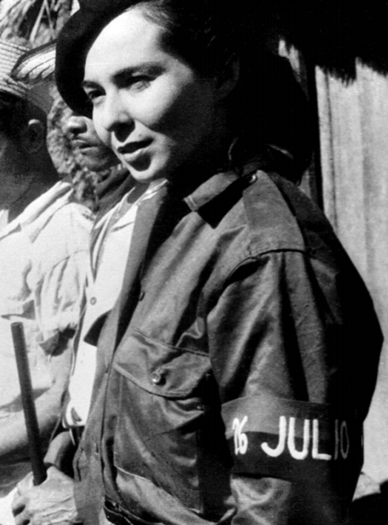 "<strong>Vilma Lucila Espín, Cuba</strong> The spirit of the Cuba's communist revolution was most vividly embodied by its ""First Lady,"" Vilma Lucila Espín. After training as a chemical engineer, Espín took up arms against the Batista dictatorship in the 1950s and debunked the notion of the docile Caribbean woman with her full army fatigues."