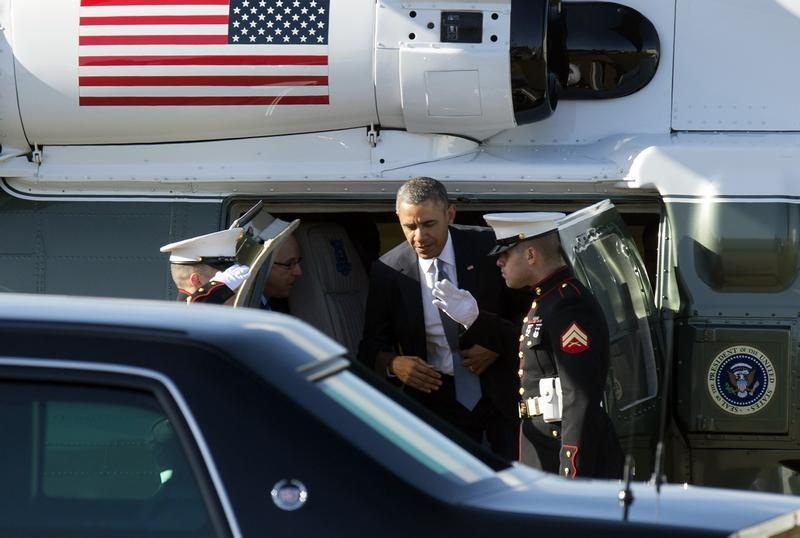 U.S. President Barack  is on a week-long trip to the Netherlands, Belgium, Italy and Saudi Arabia.